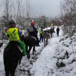 Erster  Kindergeburtstag im Schnee