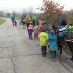 Waldkindergarten unterwegs