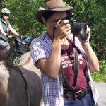 Sanne als Fotografin