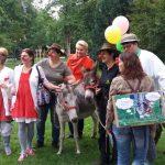 Gruppenbild mit der Oberbürgermeisterin von Rosenheim